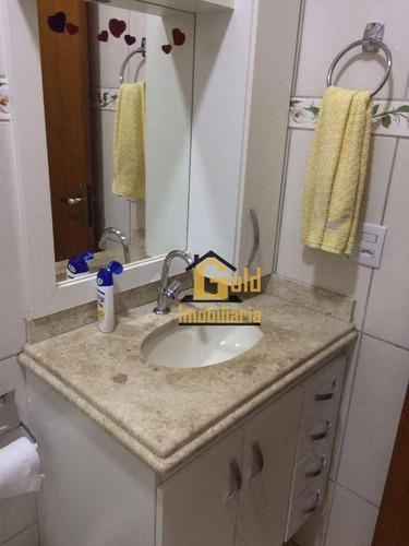 Casa Com 3 Dormitórios À Venda, 117 M² Por R$ 321.000 - Vila Tibério - Ribeirão Preto/sp - Ca0517