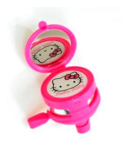 Timbre Hello Kitty Con Espejo - Bicicleta