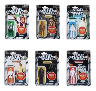 Star Wars Retro Collection Figuras 2018