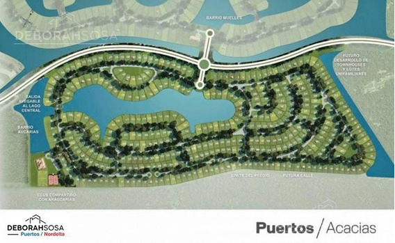 Lote A La Laguna - 586m2 - Puertos Del Lago- Barrio Acacias