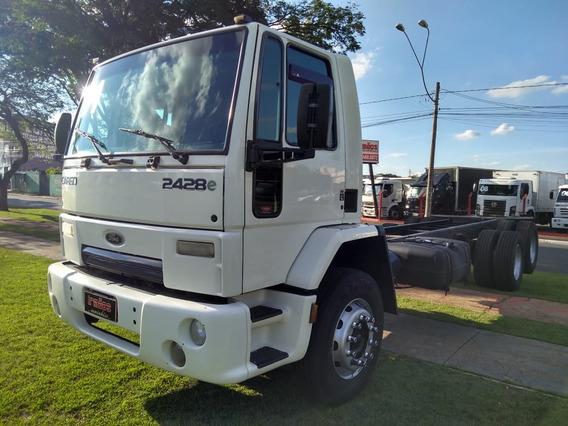 Caminhão Trucado 6x2 Ford Cargo 2428 No Chassi 17210