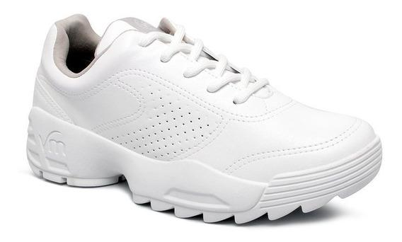 Tênis Chunky Sneaker Via Marte 19-12201 Branco