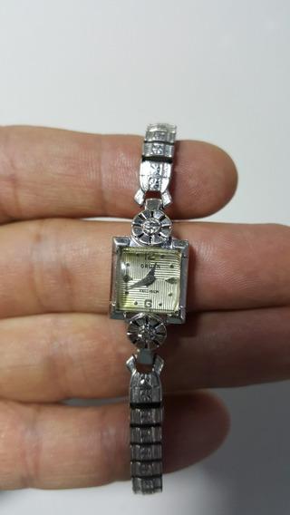 Reloj Gruen Precision 10k Gf Y 2 Diamantes Reparar O Piezas