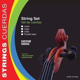 Cuerdas Para Cello Parquer 300cec Custom Encordado