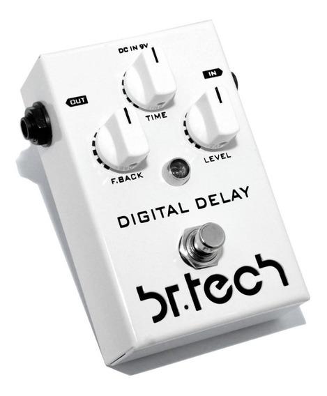 Pedal Digital Delay Br Tech - Garantia 2 Anos - Promoção