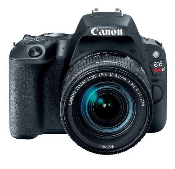 Camara Canon Eos Rebel Sl2 Reflex Digital 24.2mp Full Hd 1080p Wifi Bt