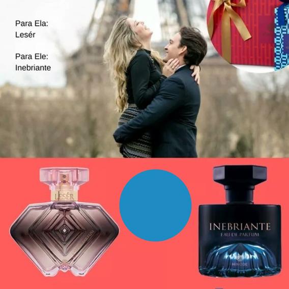 Kit Perfume Dia Dos Namorados - Ele & Ela Hinode Frasco