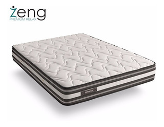 Colchon Memory Foam King Luxury Sensation