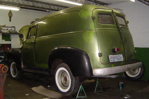 Chevrolet Boca Sapo Furgão Mod 3100 1951
