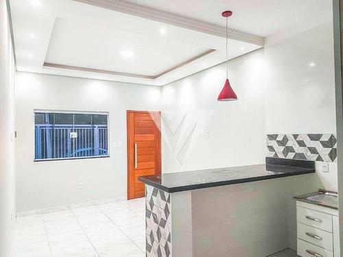 Imagem 1 de 11 de Casa Com 2 Dormitórios À Venda, 52 M² Por R$ 175.000,00 - Santa Marta - Sorocaba/sp - Ca1964