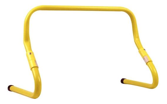 Barra De Salto Acte Sports Ajustável Amarelo/preto