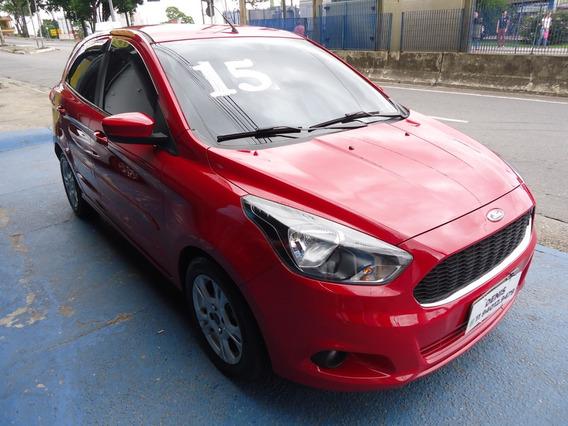 Ford Ka Sel 2015 1.5 Flex Vermelho