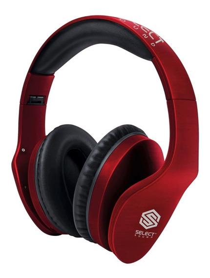 Audífonos Bluetooth Select Sound Tipo Dj Radio Fm Bth025
