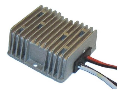 Convertidor 24v A 12v 10amp Transformador Stereo Encendedor