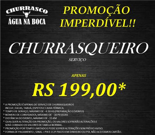 Imagem 1 de 10 de Buffet De Churrasco Em Domicilio