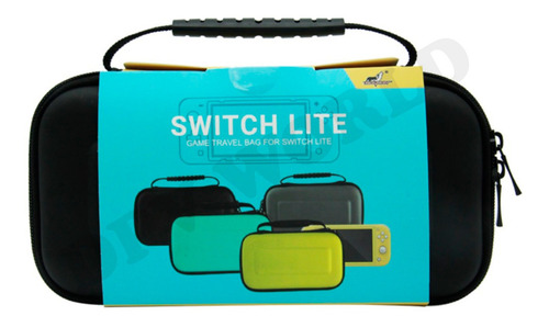 Estuche Nintendo Switch Lite De Transporte Con Cobertor