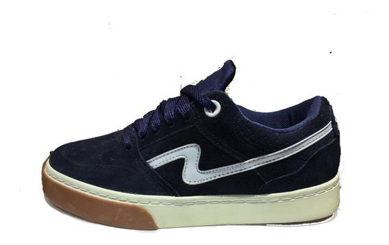 Zapatillas Urbanas/skater Spiral Shoes Pow 2020 Azul
