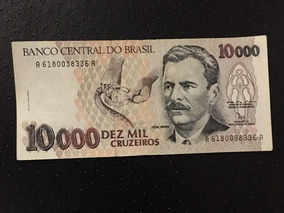 Cédula Dez Mil Cruzeiros Vital Brazil