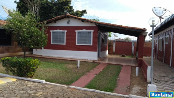 03455 - Casa De Condominio 1 Dorm, Mansoes Das Aguas Quentes - Caldas Novas/go - 3455