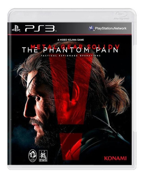 Metal Gear Solid V The Phantom Pain Ps3 Mídia Física