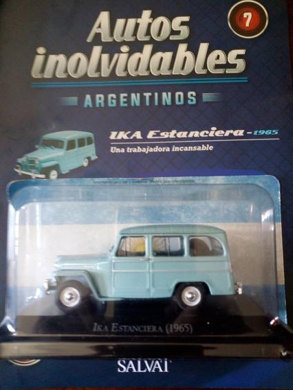 Autos Inolvidables Argentinos Ika Estancier 1965 Nº7 Salvat