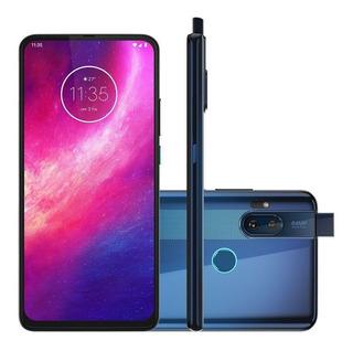 Celular Motorola One Hyper Xt2027 Dual 128gb 4gb Ram Azul