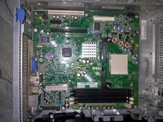 Placa Mãe Do Dell Dimension C521 Com Suporte De Dissipador.