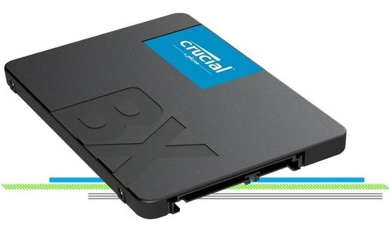 Ssd 480gb Crucial Bx500 3d Nand Original Micron Lançamento