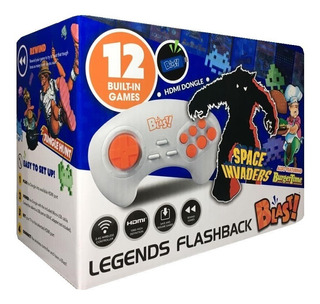 Legends Flashback Blast Mini Consola Portatil 12 Juegos Hdmi