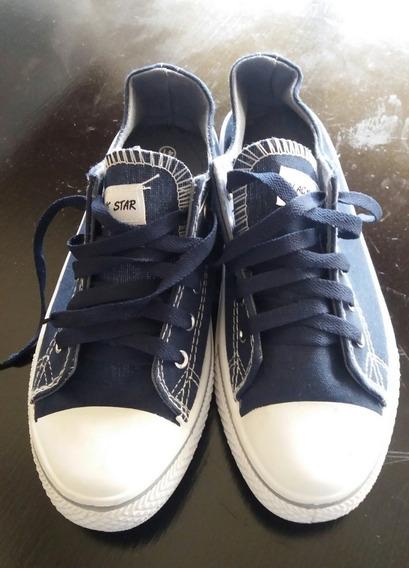Zapatos Deportivos Tipo Converse Talla 41