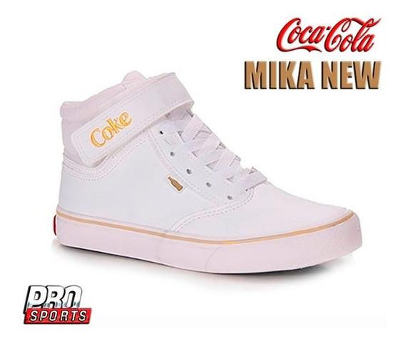 Coca Cola Shoes Mika New Branco Dourado - Original - Ev2