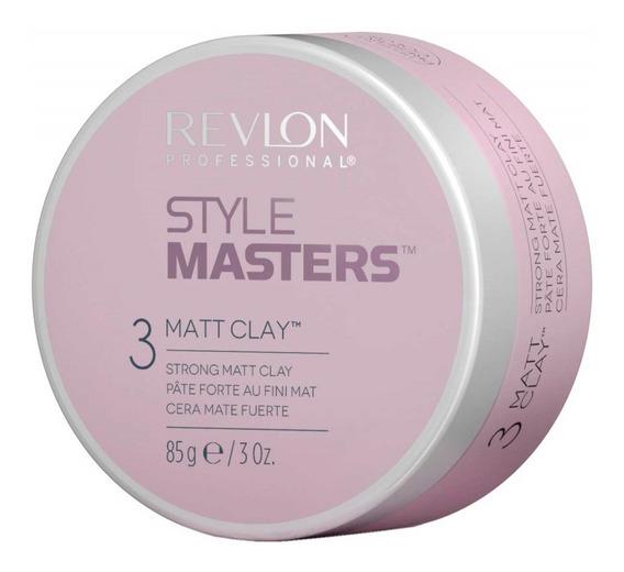 Cera Mate Matt Clay Style Masters X 85ml Revlon Professional