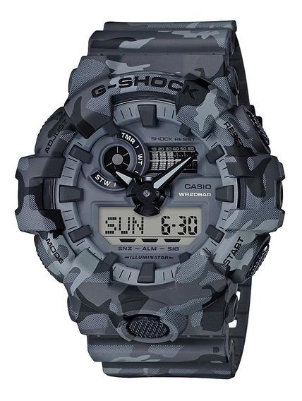 Relógio G-shock Ga-700cm-8a Camouflage Series