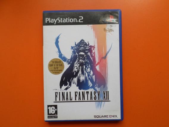 Final Fantasy 12 Original Completo Para Playstation 2 Pal