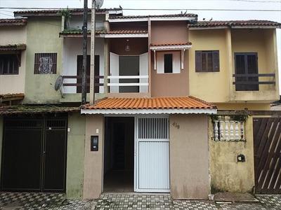 Ref.: 693 - Casa Em Mongaguá, No Bairro Vera Cruz - 2 Dormitórios