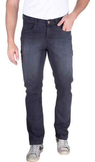 Calça Jeans Slim Algodão Preto 49775 Colombo