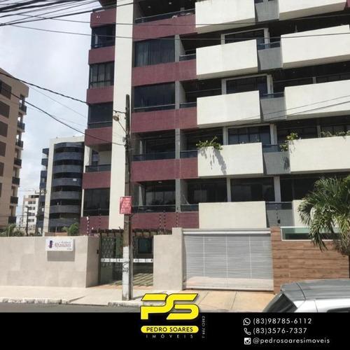 Apartamento Com 3 Dormitórios À Venda, 150 M² Por R$ 450.000 - Intermarés - Cabedelo/pb - Ap4209