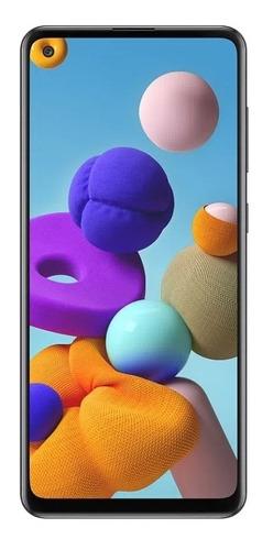 Imagen 1 de 6 de Galaxy A21s 2021 Black