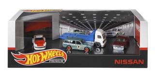 Hot Wheels Premium Nissan Diorama Garage 1:64