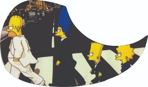 Escudo Simpsons P/ Violão | Gota | Resinado + Frete