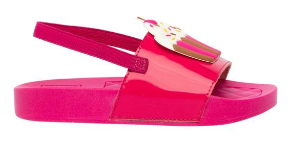 Sandália Molekinha Pink Feminina 45912