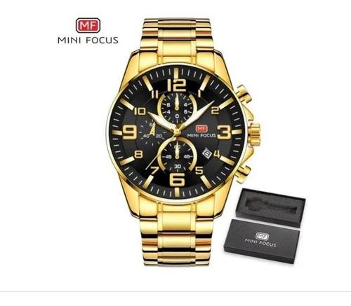 Relógio Homem Mini Focus Mf0278g (envio Imediato Do Brasil)