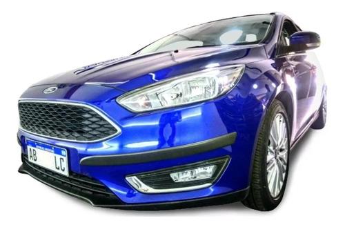 Ford Focus 2015/2019 Baguetas + Protectores De Paragolpes