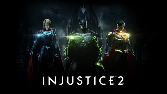 Injustice 2 + 1 Jogo Gratis ( Mídia Física) Pc - Dvd