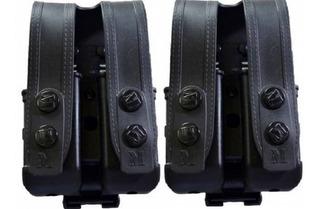 Kit 2 Porta Carregadores Duplo Universal Polímero Maynards