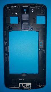 Carcaça Aro Traseiro Original Lg K8 K350 Com Lente Da Câmera