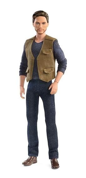 Boneco Ken Barbie Jurassic Park Collector Owen Filme Mattel