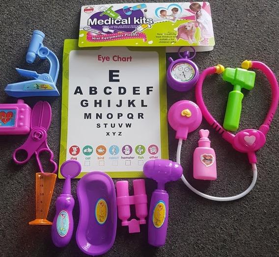 Juguete Doctora Set Doctora Kit Para Niña De Doctora