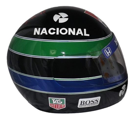 Capacete Personalizado Airton Senna 20 Anos Exclusivo