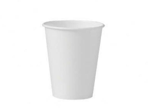 Copo Térmico Papel Biodegradável Branco 100 Ml S/tampa 100un